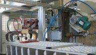 Unit� de fabrication compl�te pour mortiers sp�ciaux